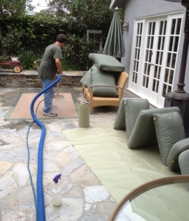 Rug cleaning services in Santa Monica